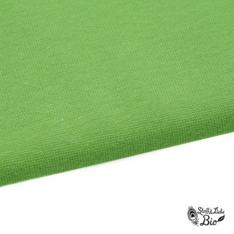 50 cm PAMUK Bündchen Wasabi - Bio