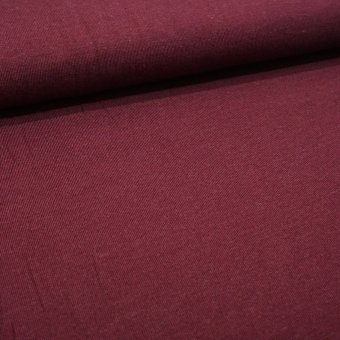 "Viscose-Strick CLIPPER ""bordo"""