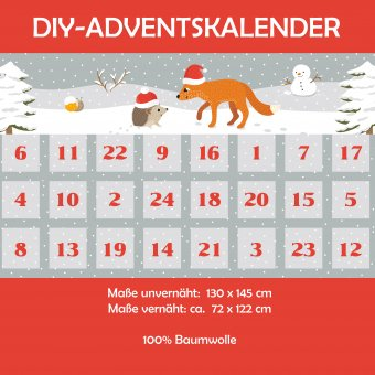 L'amitié Adventskalender DIY