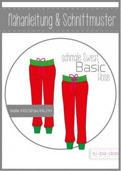 Damen schmale Basic Hose