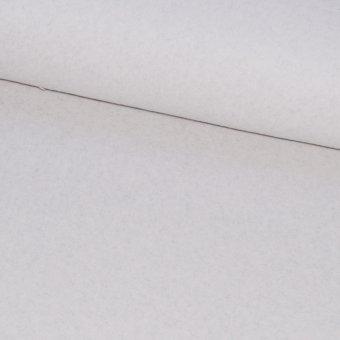 BIO-Baumwollfleece Lichtgrau Melange