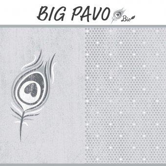 Bio Jersey BIG PAVO Panel - GRAU