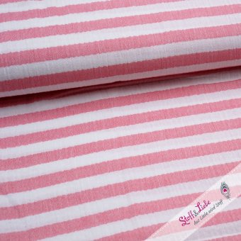 "Striped Musseline ""red"""