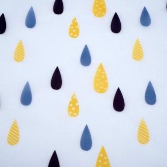 """Regenjackenstoff """"Drops"""""""