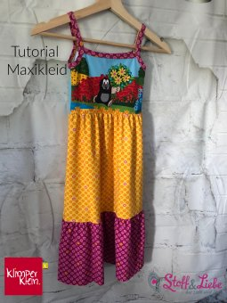 Klimperklein - Tutorial - Maxikleid
