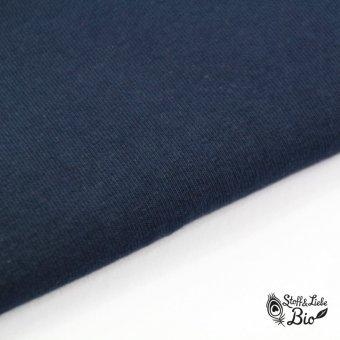 PAMUK Jersey Schwarzblau - BIO
