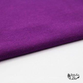 50 cm PAMUK Bündchen Purple - BIO