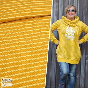 Sweat Knit Me STRIPES - Honey