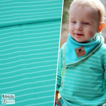 Bio Sweat Knit Me STRIPES - Peppermint