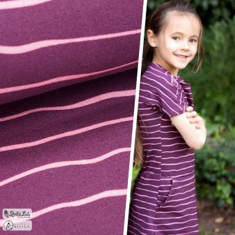 SWEAT Stripe Me - Bordeaux