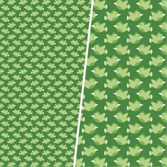 RESTE:  Piepmatz Grün