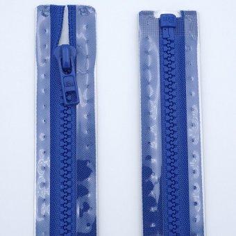 "Reißverschluss  ""teilbar"" S4 75cm ""Blau"