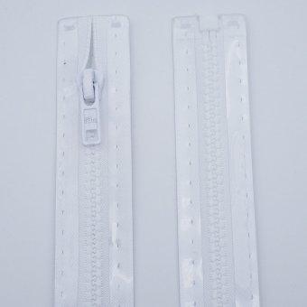 """Reißverschluss  """"teilbar"""" S4 40cm """"Weiß"""""""