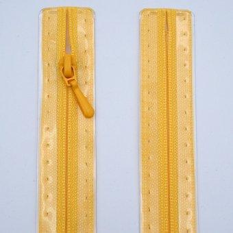 "Reißverschluss  ""unteilbar"" S2 30cm ""Gelb"