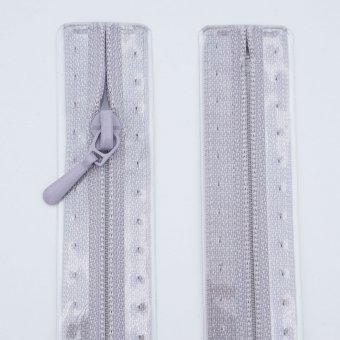 """Reißverschluss  """"unteilbar"""" S1 18cm """"Hellgrau"""
