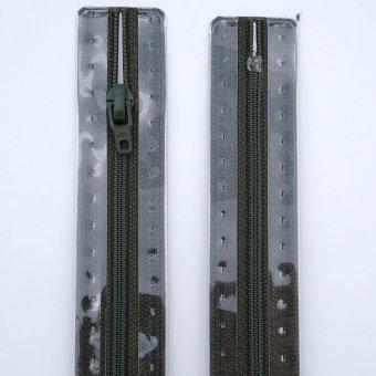 "Reißverschluss  ""unteilbar"" S1 18cm ""Oliv"