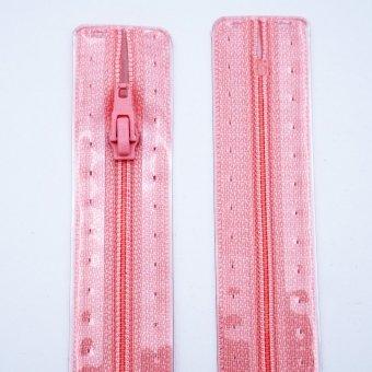 """Reißverschluss  """"unteilbar"""" S1 22cm """"Rosa"""