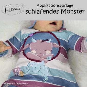 """Applikationsvorlage """"Schlafendes Monster"""""""