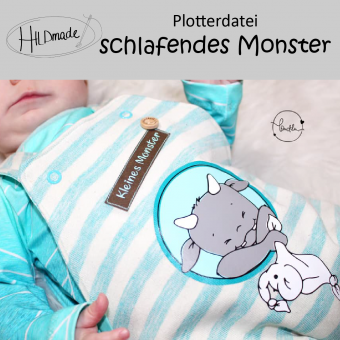 "Plotterdatei ""Schlafendes Monster"""