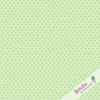 Mini Daisies Gelb-Grün
