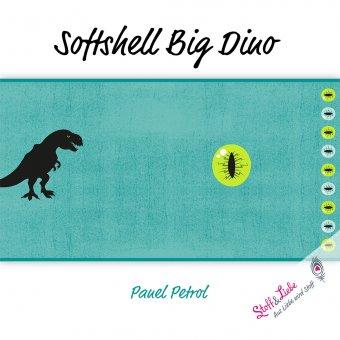 Softshell Big Dino - Panel Acqua