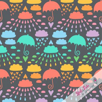Softshell Love & Rain Rainbow