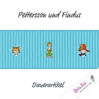 Pettersson und Findus - PANEL - TÜRKIS