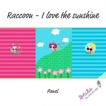 Raccoon - I Love the sunshine - PANEL
