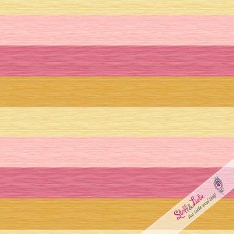 Slub Stripes - Berry-Honey Jersey