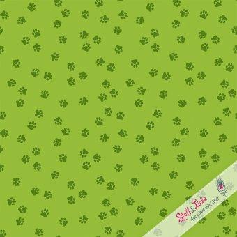 Katzentatzen Grün