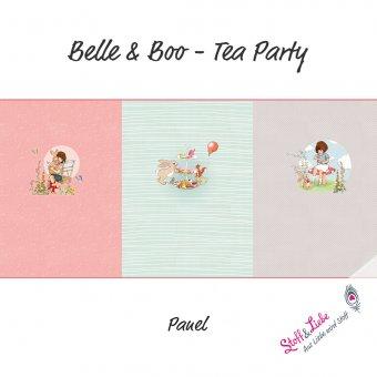 BELLE & BOO - Tea Party - 3er Panel
