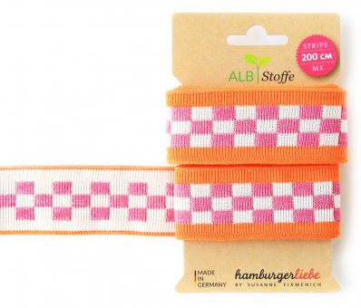 Bio-Strickband STRIPE ME ICON Orange