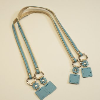 "Taschengriff 1 Paar 46cm ""Blue"""