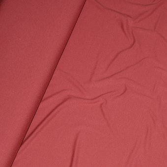 Viscose Jersey de Luxe Marsala Red