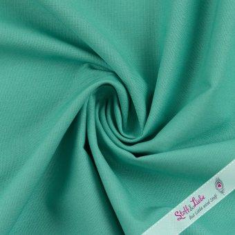 Baumwolle Webware Smaragd