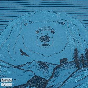 95 cm WILD Panel - Mystic Blue