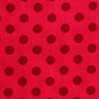 COTTON DOTTIES Boysenberry auf Pink