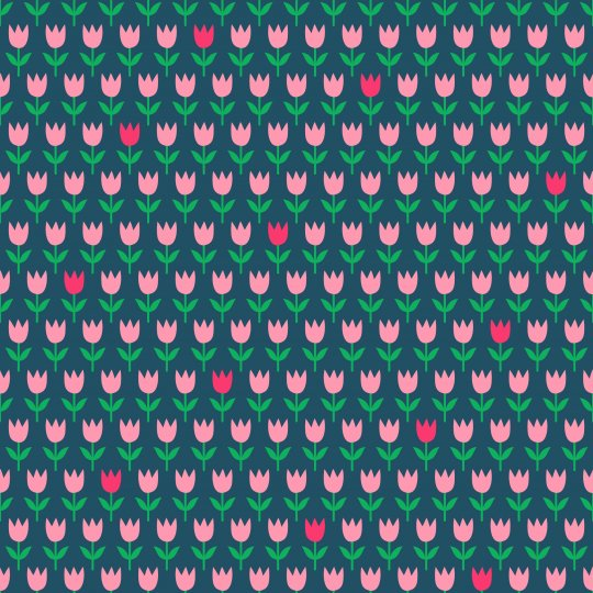 NEU!!! CLASSIX Tulpen Blau/Rosa