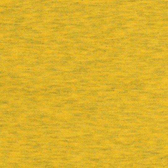 50 cm PAMUK Bündchen Gelb Melange