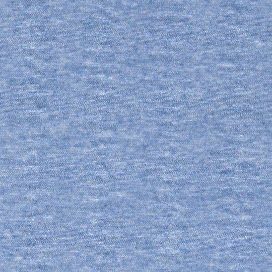 50 cm PAMUK Bündchen Rauchblau Melange