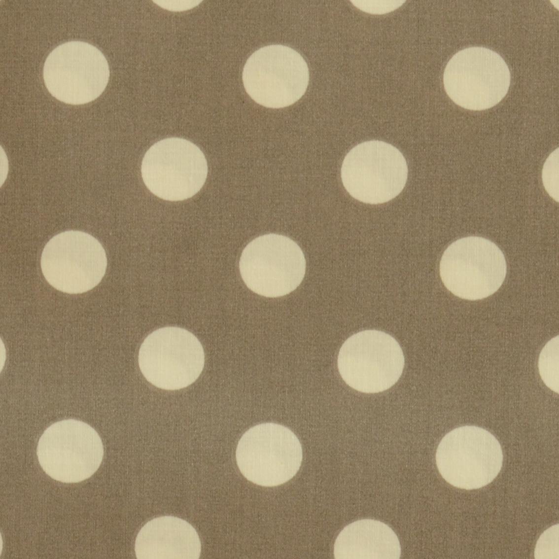 stoff liebe aus liebe wird stoff bio beschichtete baumwolle dots cinder stoffe online. Black Bedroom Furniture Sets. Home Design Ideas