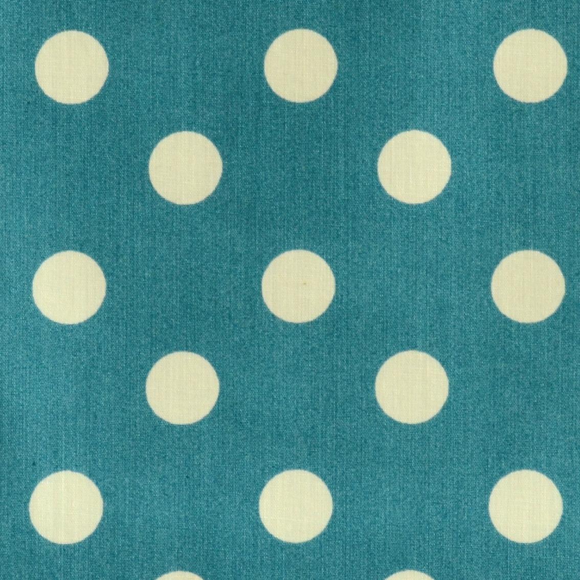 stoff liebe aus liebe wird stoff bio beschichtete baumwolle dots pagoda blue stoffe. Black Bedroom Furniture Sets. Home Design Ideas
